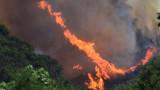 Горските пожари в Гърция продължават