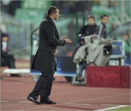 Станимир Стоилов недоволен след загубата от Белгия