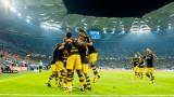 Борусия (Дортмунд) вкара три гола на Хамбургер и оглави Бундеслигата