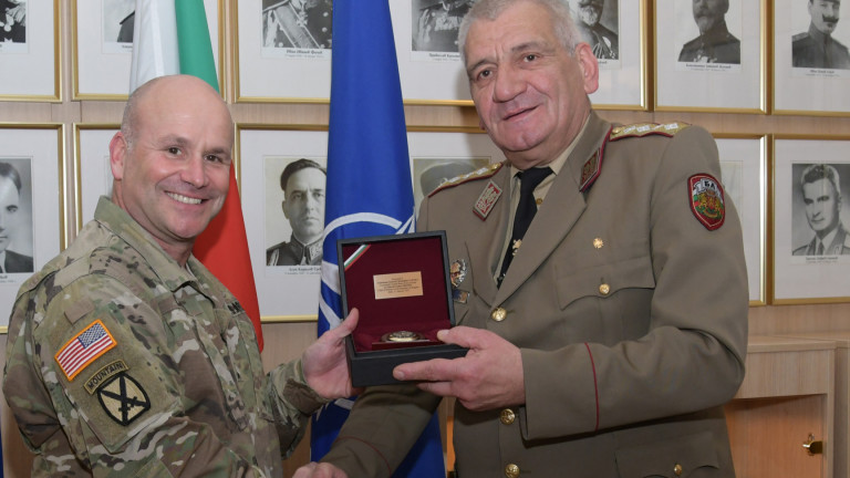 Началникът на армията ни зове за надграждане на съвместната подготовка със САЩ