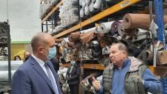 Адекватната подкрепа за малкия и среден бизнес е навременната, настоя Румен Радев