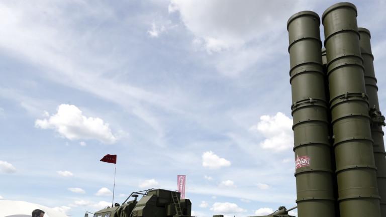 Турция тества способностите на С-400 с F-16