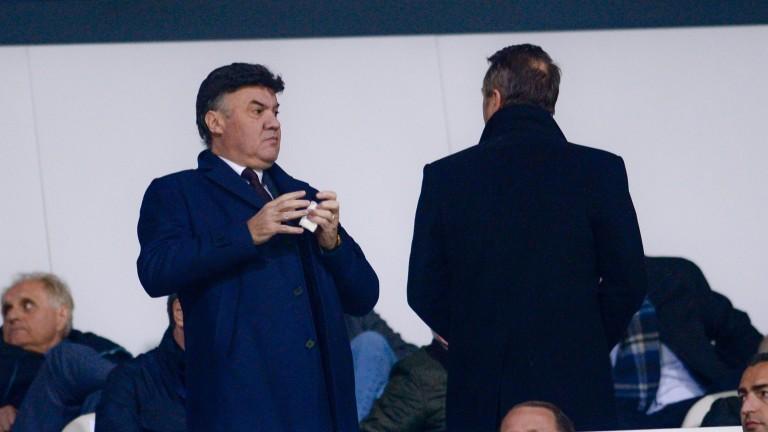 Президентът на Българския футболен съюз Борислав Михайлов отказа да коментира