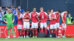 Датската футболна федерация с коментар за състоянието на Ериксен