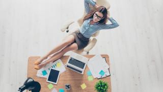 Тайната на успеха - дрямка в офиса
