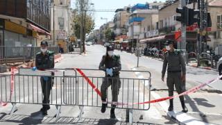 И в Израел вече над 10 000 заразени с коронавируса, но постепенно вдига блокадата