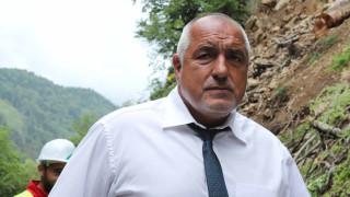 """Борисов провери състоянието на пострадалите работници от тунел """"Железница"""""""