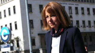 """Фандъкова посети централата на """"Демократична България"""""""