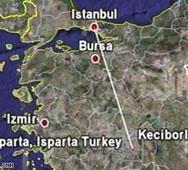 Самолет с 57 души се разби в Турция