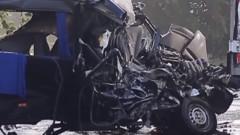 """Шофьор на камион е загинал тази нощ при тежка катастрофа на АМ """"Тракия"""""""
