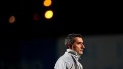 """""""Сосиос"""" на Барселона вярват на Ернесто Валверде"""