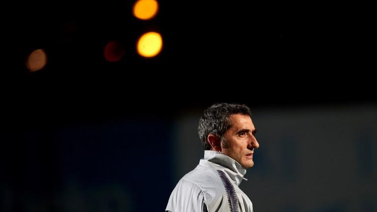Ернесто Валверде призна, че Барселона се нуждае от нов централен нападател