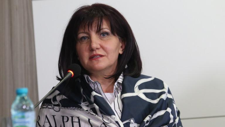 Караянчева: Не очаквайте парламентарни избори утре