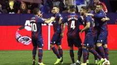 Леванте изпревари Реал след четвъртия си пореден успех в Ла Лига