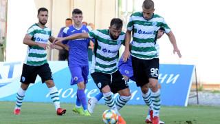 Групата на Черно море за мача със Славия
