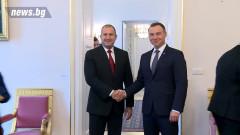 Румен Радев и Анджей Дуда единодушни за сигурността на ЕС