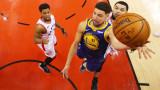 Голдън Стейт Уориърс изравни финалната серия в НБА срещу Торонто Раптърс