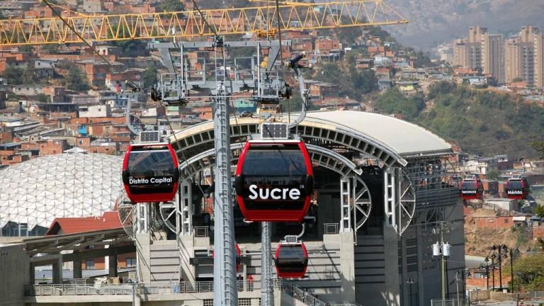 Снимка: Планинска страна ще има най-дългия градски кабинков лифт за $600 милиона
