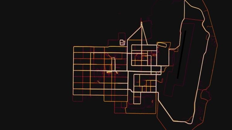 Мобилното приложение Strava - тракер за тичане и колоездене, разкрива