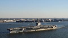 САЩ разполагат самолетоносач и бойни кораби в Средиземно море за учения с Гърция