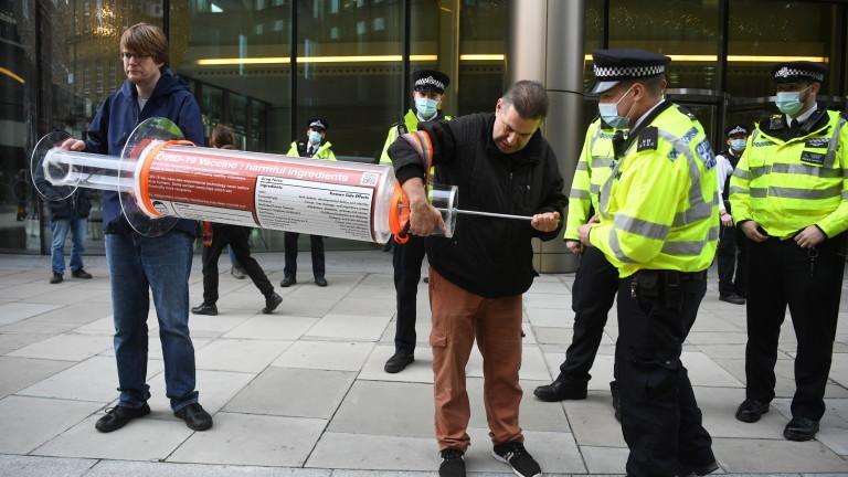 Полицията е арестувала над 60 души на фона на протести