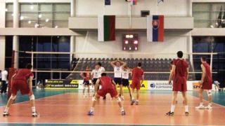 България загуби от Словакия в пет гейма