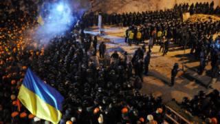 Съдят високопоставени служители за насилието на Майдана