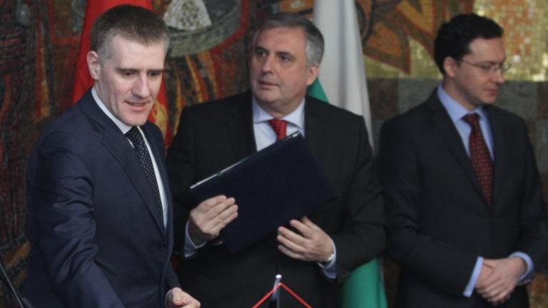 Митов обеща помощ на Черна гора за секторите правосъдие и енергетика