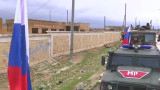 Русия патрулира между сирийските и турските сили