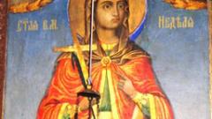 Църквата отбелязва Света Великомъченица Неделя