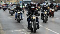 За трета поредна година мотористи почитат загинали на пътя близки
