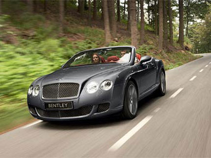 Bentley прави най-мощното кабрио