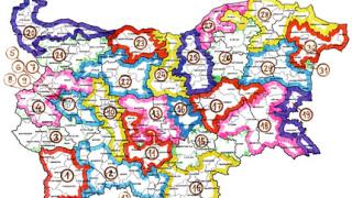 Как могат да изглеждат едномандатните избирателни райони...