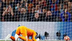 Давид Де Хеа още не може да си прости грешката срещу Барселона