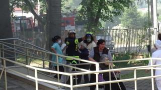 Пожар в старчески дом в Благоевград