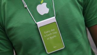 Apple вреди все по-малко на околната среда