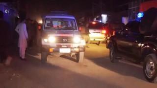 Ракетен обстрел на щаба на НАТО в Кабул