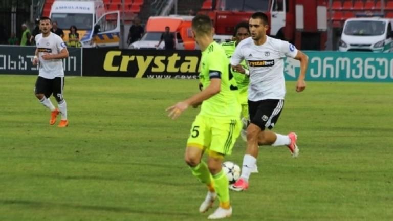 Българският защитник Лазар Марин игра цял мач при тежкото поражение