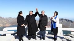 Ким Чен-ун изпрати Мун Дже-ин с два тона гъби