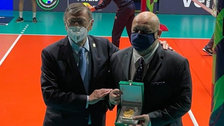 Красен Кралев стана посланик на европейския волейбол