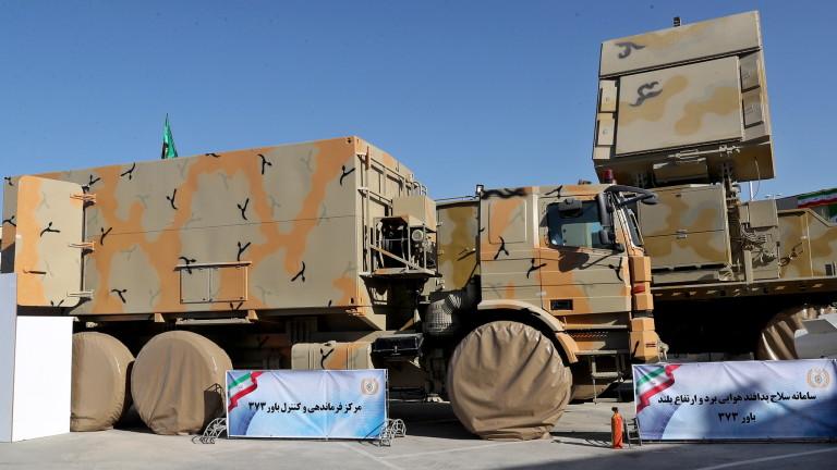 Иран показа мобилна противоракетна система земя-въздух с далечен обсег собствено
