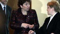 Меглена Плугчиева се среща с ОЛАФ