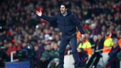 Мениджърът на Арсенал Микел Артета остана доволен от равенството  с Челси