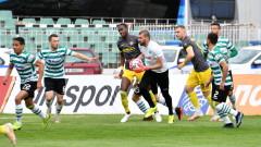 Ботев (Пловдив) - Черно море 0:1, гол на Стефан Станчев
