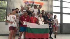 Седем титли за националите по комбат рестлинг от Европейското първенство в Румъния