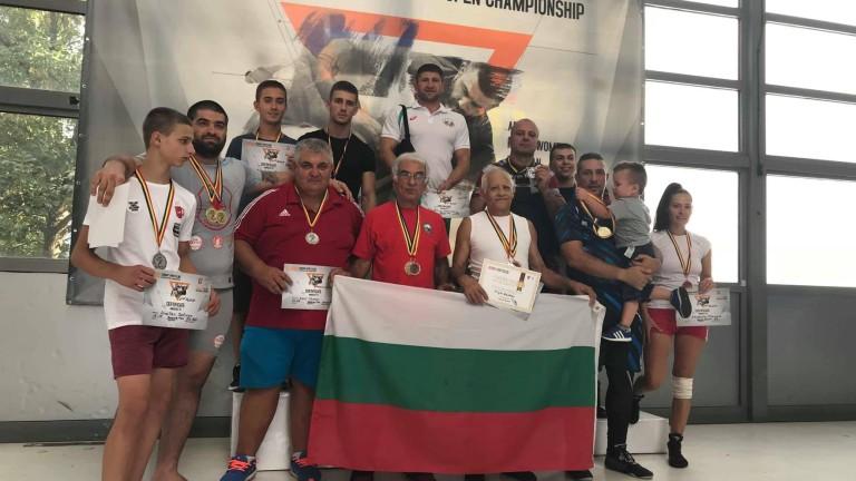Българският национален отбор по комбат рестлинг завоюва 7 титлина Европейското