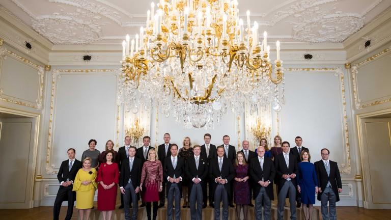 Новото холандско правителство положи клетва 7 месеца след изборите