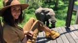 Нина Добрев, Южна Африка и едно сафари