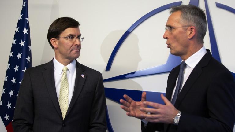 Съединените щати изискват страните от НАТО да приемат изявление в