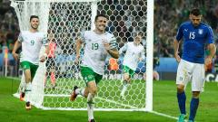 """Ирландският късмет проработи срещу апатичната """"Скуадра адзура"""""""